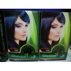 "Хна для окрашивания волос Silkyshine ""Черная"""